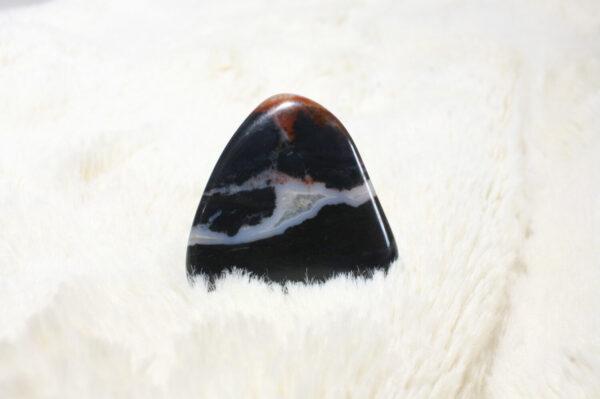 Pierre naturelle Sardonyx